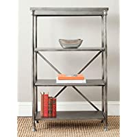 Safavieh American Homes Collection Jacinda Dark Silver Tall Etegere