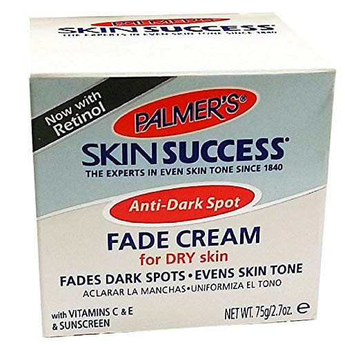 Palmer's Skin Success Anti-Dark Spot Fade Cream for Dry Skin 2.70 oz (Pack of 2)