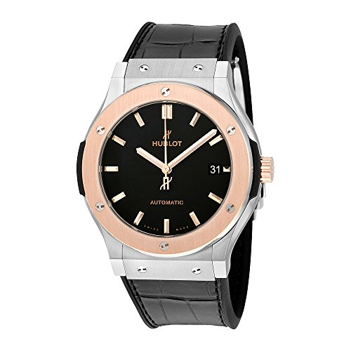 Hublot Classic Fusion Automatic Matte Black Dial Mens Watch 511.NO.1181.LR