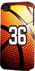 iphone covers Basketball Sports Fan Player Number 36 Snap On Flexible Decorative Iphone 5 5s Case