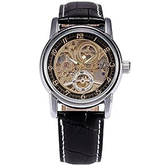 GALLANT Milan Mechanische Automatik Armbanduhr Skelett Automatikuhr zu erschwinglichen Preisen Modisch und Zeitlos