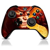 Controller-Gear-The-Flash-Electric-Yellow-Xbox-One-Skin-Set-for-Controller-and-Controller-Stand
