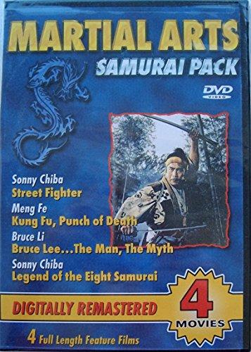 Martial Arts Samurai Pack (Legend of the 8 Samurai, Street Fighter, Bruce Lee