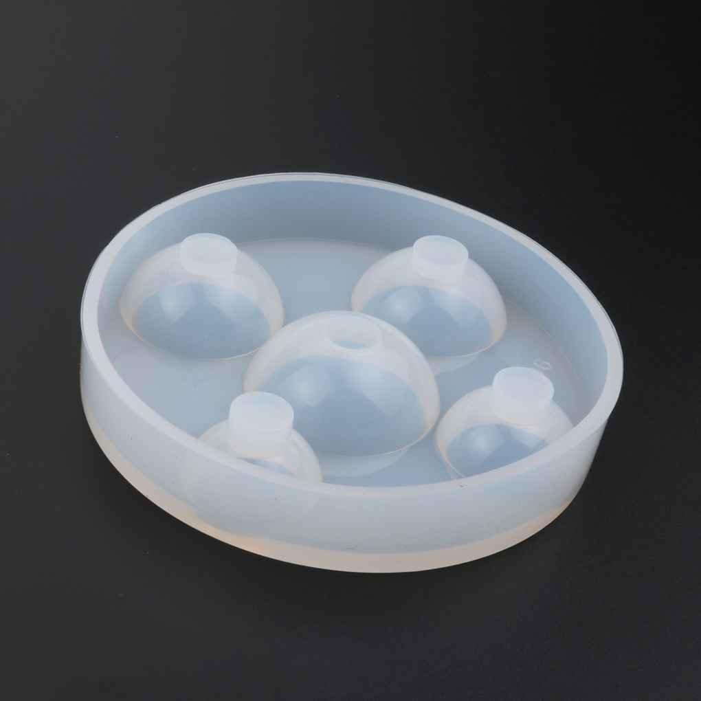 Lorjoy Muffa di Cristallo della Gemma della Muffa Gioielli del polimero di Resina epossidica Artigianato Ciondolo