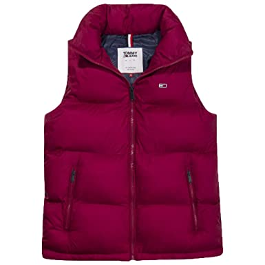3a52b38ad6f9 Tommy Hilfiger Tommy Classics Doudoune SM Femme Rouge Taille L ...