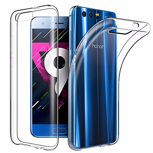 Price comparison product image Huawei Honor 9 Case, EasyAcc Soft TPU Case Crystal Clear Transparent Slim Anti Slip Case Back Protector Cover for Honor 9 5.15''
