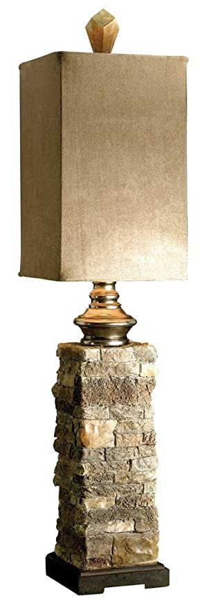 uttermost buffet lamps iron uttermost 290931 andean buffet lamp table lamps amazoncom
