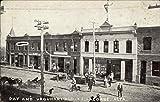 Day and Urquhart Blocks LaCombe, Alberta Canada Original Vintage Postcard