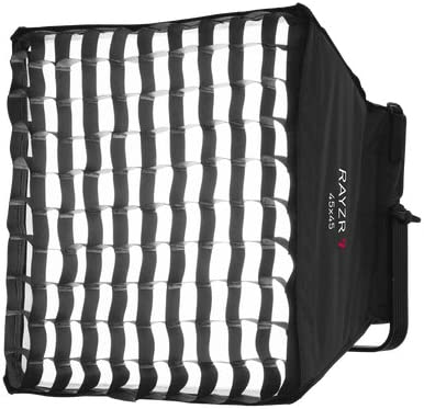 ILED-S Softbox Diffuser Kit with Honeycomb for Rayzr 7 Fresnel LED Studio Lights