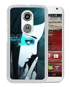 Anime Ergo Proy Girl Anger Finger Gesture White Personalized Recommended Custom Motorola Moto X 2nd Generation Phone Case