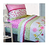 All American Collection 4 Piece Twin Size Pink Monkey Sheet Set