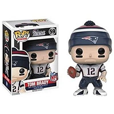 Funko POP NFL: Wave 3 - Tom Brady Action Figure: Artist Not Provided: Toys & Games