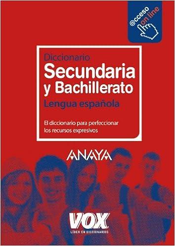 Diccionario de Secundaria y Bachillerato Vox - Lengua Española ...