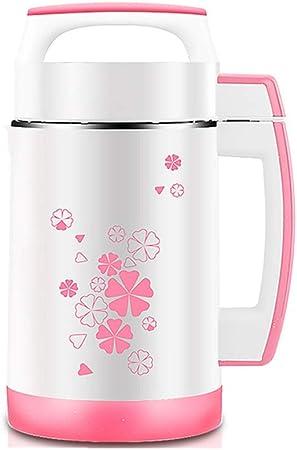 Máquina multifuncional de leche de soja, exprimidor de leche de soja de calentamiento automático de acero inoxidable: fácil de limpiar, para soja, alimentos para bebés y rehabilitación, jugos, etc.: Amazon.es