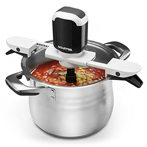Gourmia GST210B Stiriffic Adjustable Pot & Pan Hands Free Automatic Stirrer-Black