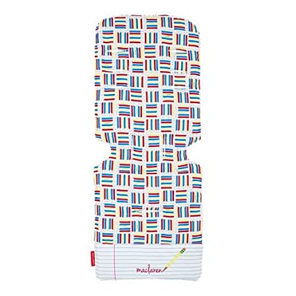 Maclaren Notebook White/Pencil Plaid - Colchoneta