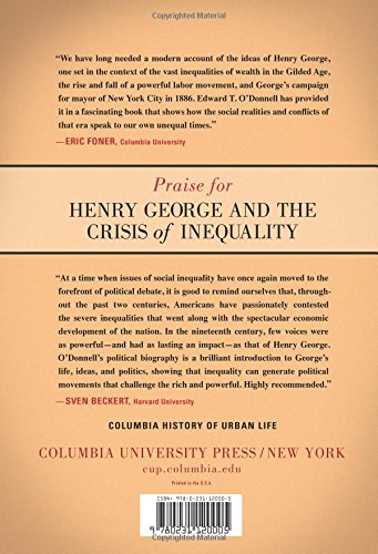 Henry George and the Crisis of Inequality: Progress and Poverty in ...