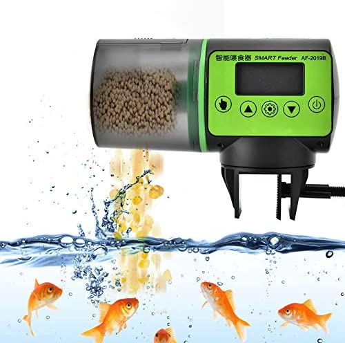 Alimentador automático de peces acuario dispensador de alimentos acuario casero 2