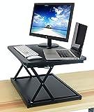 DeskRiser 28in Height Adjustable Stand Up Desk, Standing Desk Sit to Stand Desk Riser | Workstation and Desktop Converter