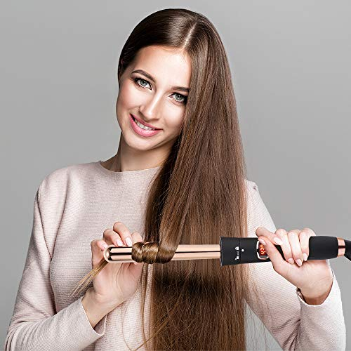 Five-in-One Multi-Function Hair Curler Set Reversible Tube Perm Artifact Multi-Function Hair Curler Straight Hair Curler Big Wave Artifact Styling Tool by ZQhealth (Image #3)