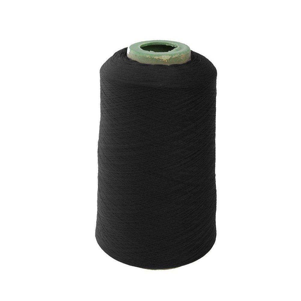Pixnor 150D poliestere cucito filo forte per macchina da cucire a mano impunture (nero)
