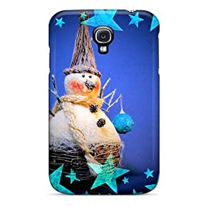 High Impact Dirt/shock Proof Case Cover For Galaxy S4 (snowman)