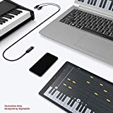 USB MIDI Interface Cable - MIDI to USB 1 in 1 Out