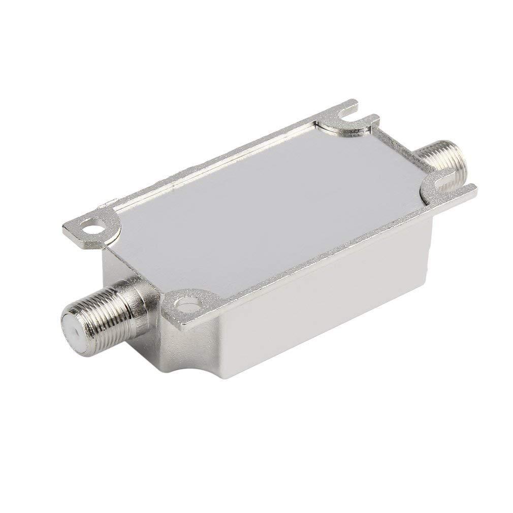 Potenciador de se/ñal del Amplificador en l/ínea satelital 20dB 950-2150MHZ para Antena de Red de Plato Cable Run Channel Strength