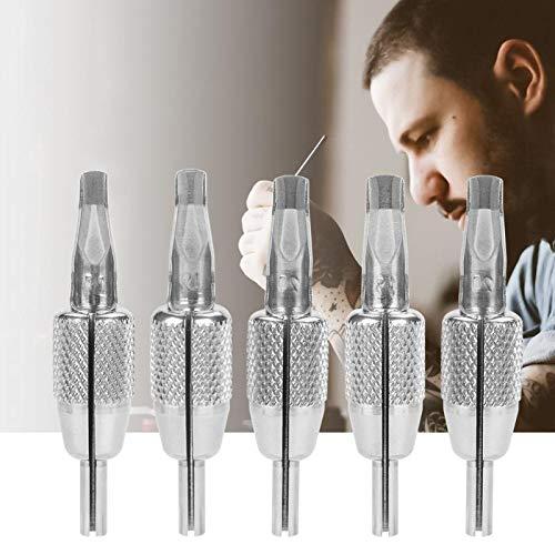 Sala-Ctr - 24mm Stainless Steel Integrated One-piece Tattoo Grip Tube Tattoo Machine Gun Handle Grip 17F 19F 21F 23F 25F Tattoo accesories