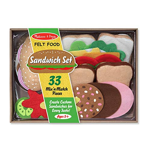 (Melissa & Doug Toys - Felt Food - Sandwich Set)