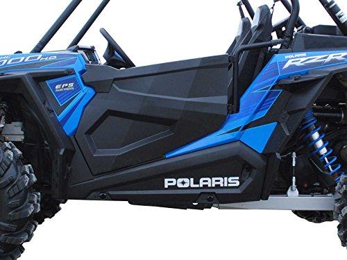 Super ATV Polaris RZR XP 1000 Full Plastic Doors w/ Optional Graphics (Doors without Graphics)