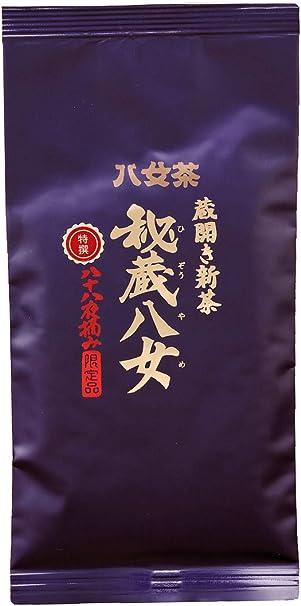 岩﨑園製茶 新茶 2020年産 福岡県産 八女茶 蔵開き 新茶 特選秘蔵八女 (袋タイプ) 100g