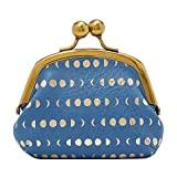 Fossil Women's Blue Coin Pouch Wallet