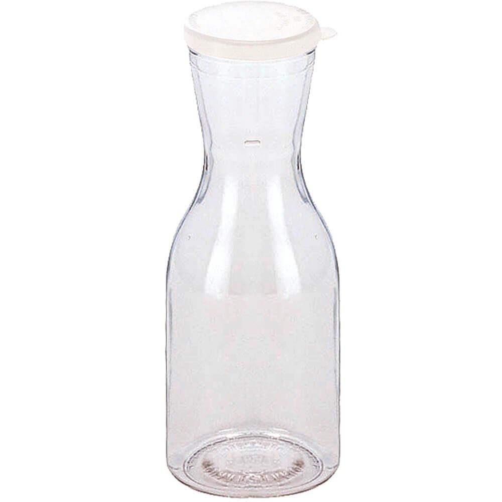 1/4 Liter Plastic Decanter Pitcher -- 12 Per Case