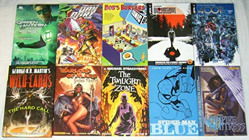 Lot of (10) TPBs - includes Marvel DC Valiant and more - Wholesale : TPB