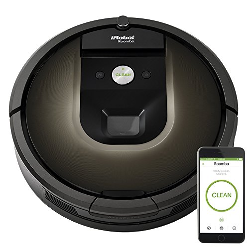 iRobot Roomba 980 Vacuum Cleaning Robot + 2 Dual Mode Virtual Wall Barriers (With Batteries) + Extra Side Brush + High Efficiency Filter + More (Certified Refurbished)]()