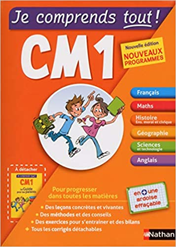 Je Comprends Tout Tout En Un Cm1 French Edition