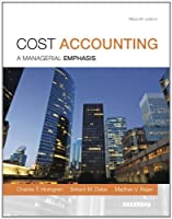 Cost Accounting, 15th Edition Front Cover