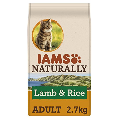 IAMS Naturally Cat Food with New Zealand Lamb and Rice...