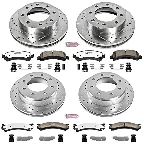 Power Stop K2072-36 Z36 Truck & Tow Front and Rear Brake Kit