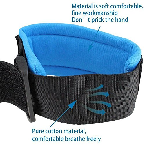 Baby Toddler Reins Safety Harness Strap Leash Walking Hand Belt Child Kids Travel Cares Safety Restraint Wristband Emwel Anti Lost Safety Wrist Link Belt /& Baby Harness /& Reins