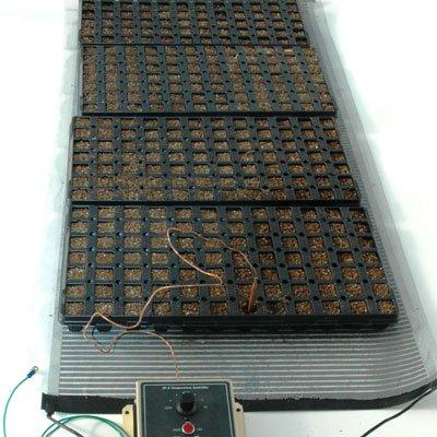 Ken-Bar Agritape Seed Starting 22'' x 8' Heat Mat with Grounding Screen