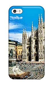 Fashion KJUIKTM2706ReHCK Case Cover For Iphone 5/5s(milan City )