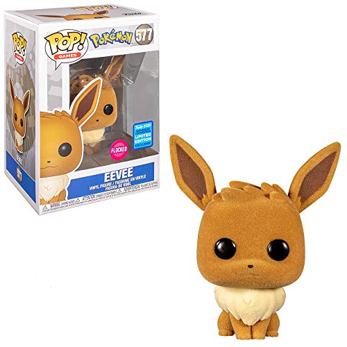 POP Funko Pokemon 577 Eeve Flocked Funko 2020 Wondrous Convent