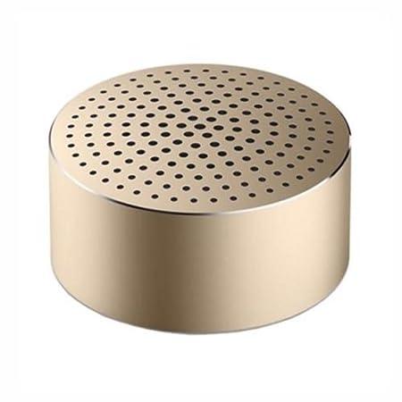 Xiaomi Mi Mono Bluetooth Speaker Mini Portable Speaker 2 W Gold – Tragbare Lautsprecher (2 Watt, 4 Ohm, 53 dB, 5%, Kabellos,