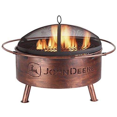 John deere steel fire pit honeydo advisor for Firerock fireplace prices