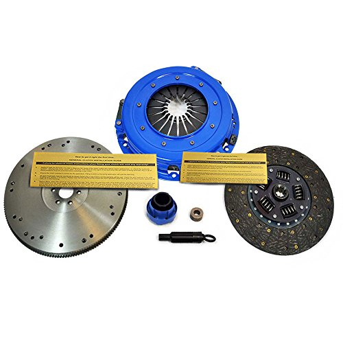 EFT STAGE 1 CLUTCH KIT+CAST FLYWHEEL FOR 93-97 FORD F150 F250 F350 TRUCK 4.9L 6CYL