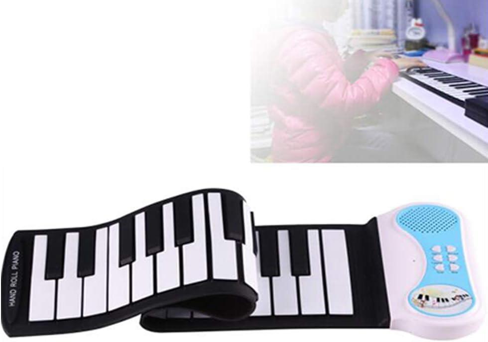 Piano portátil Teclado Enrollable Piano Flexible Plegable ...