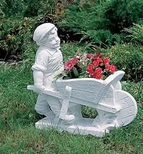 Piedra Oskar reconoce en figura jardín Escultura mecanismo para jardín fabricado en hormigón piedra figuras de jardín-Estatua: Amazon.es: Hogar
