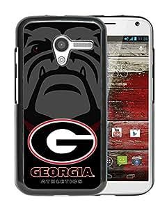 Popular Custom Designed Cover Case With Southeastern Conference SEC Football Georgia Bulldogs 2 Black For Motorola Moto X Phone Case